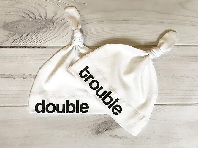 Amazon Com Twins Baby Gift Baby Hat Newborn Hospital Hat Baby