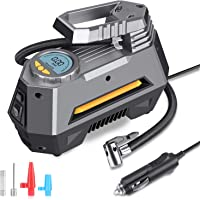$25 » MOICO Portable Air Compressor Pump, 12V DC Digital Tire Inflator, Auto Air Pump for Car…