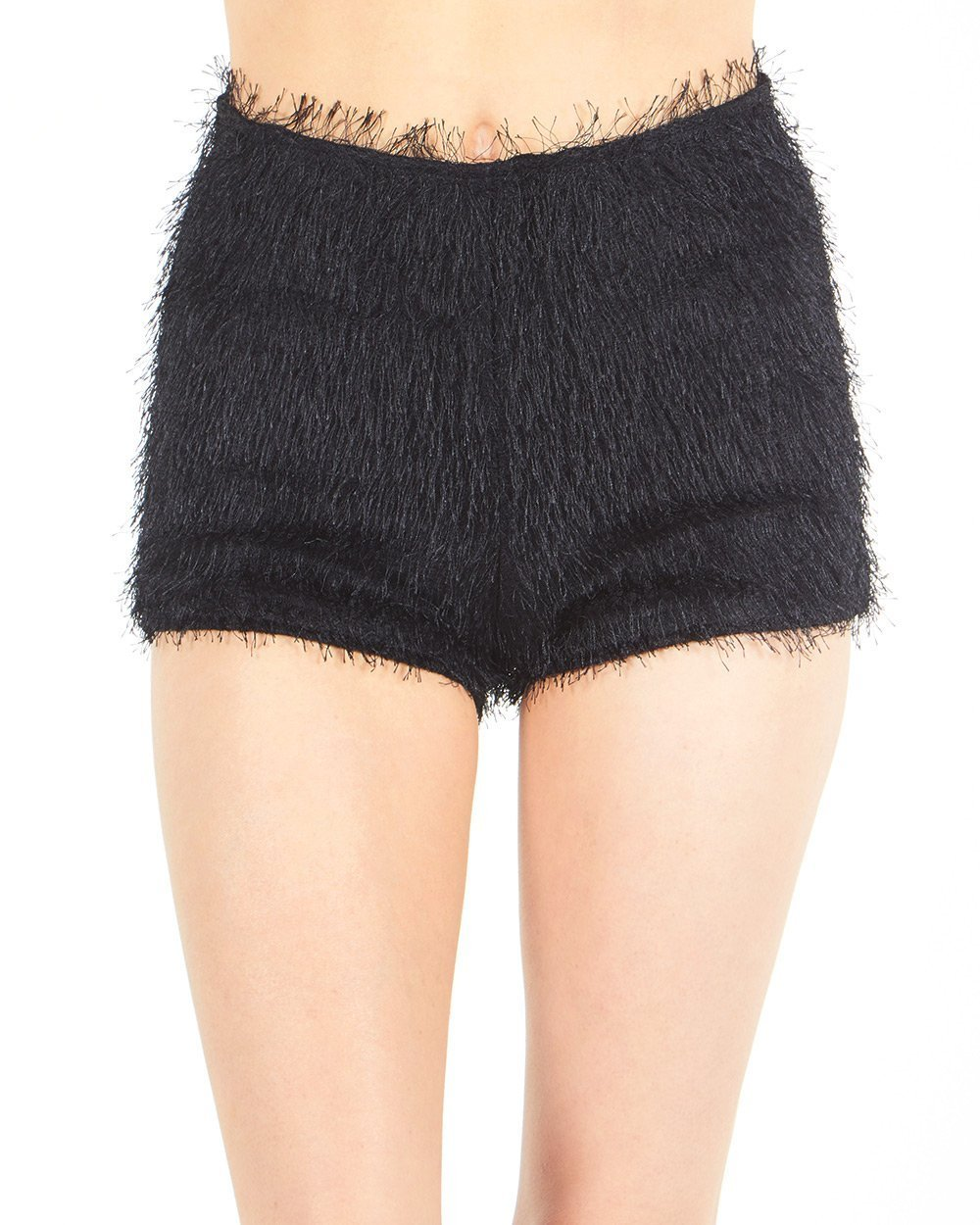 iHeartRaves Women's High Waisted Booty Shorts Bottoms