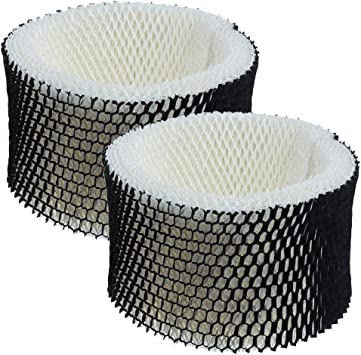 Replacement Wick Filter for Holmes HWF62 HWF62CS Hunidifier Filter A Compatible Sunbeam HWF62 Air Filter 2 Pack