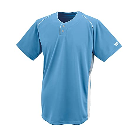 a29323360 Amazon.com   Wilson Sporting Goods Double Bar Mesh 2-Button Jersey ...