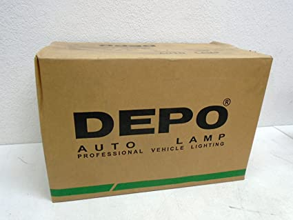 Depo 320-1108L-ASD Subaru Forester Driver Side Replacement Headlight Assembly