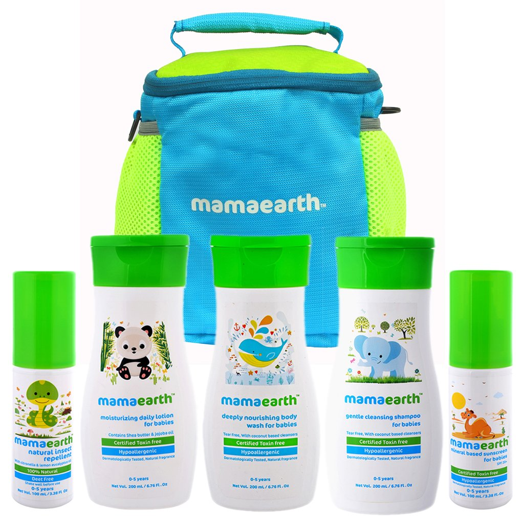 Buy Mamaearth Complete Baby Care Kit Online At Low Prices In India Pigeon Shampoo Chamomile 100ml Paraben Free