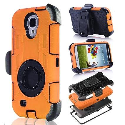 Amazon.com: S4 Funda, Galaxy S4 Case, aitech TPU de goma y ...
