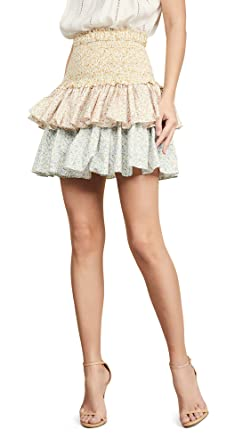 2ccd711e955b Petersyn Women s Asia Tiered Skirt at Amazon Women s Clothing store