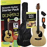 Guitar For Dummies Acoustic Guitar Starter Pack (Guitar, Book, Audio CD, Gig