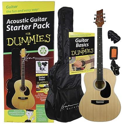 For Dummies - Set de guitarra acústica para principiantes (libro y ...