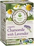 Traditional Medicinals Organic Chamomile with Lavender Tea, 16 Tea Bags (Pack of 6)