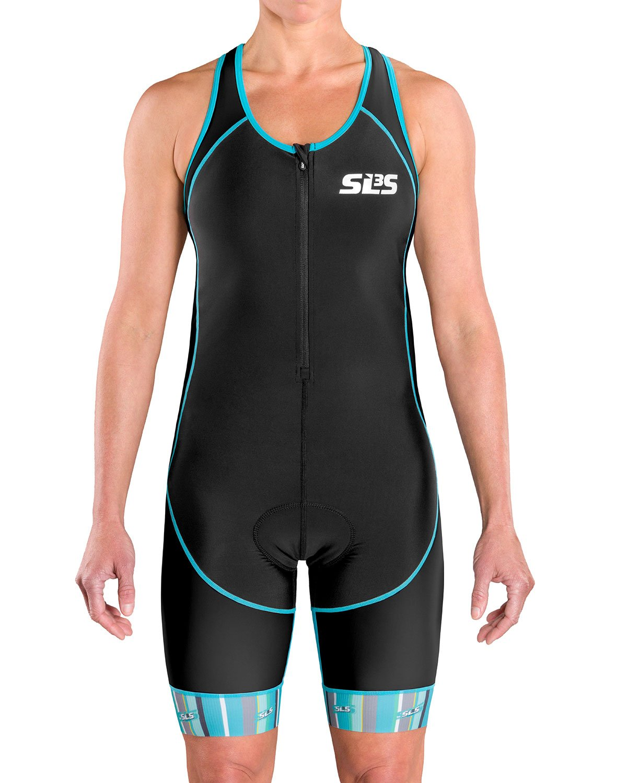 Costuras antifricci/ón 1 Bolsillo SLS3 FX Tri Suit Traje de triatl/ón para Mujer Dise/ño Alem/án