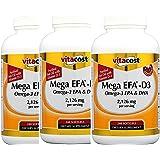 Vitacost Mega EFA-D3 Omega-3 EPA & DHA -- 2,126 mg per serving - 240 Softgels