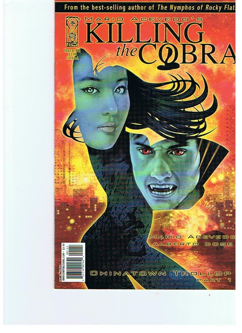 Read Online Killing the Cobra #1 Cover A ebook