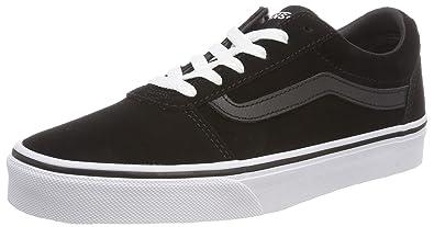 ff821009cc92 Vans Women s s Ward Suede Low-Top Sneakers  Amazon.co.uk  Shoes   Bags
