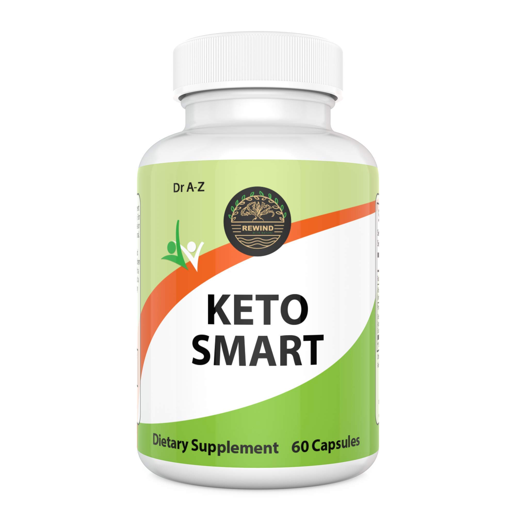 Keto Smart Supplement Slimfast Diet Weight Loss Ultra Advanced Weight Loss Diet Pill Fat Burner Ketogenic Ketosis KetoBur Boost Energy 7 Keto Shark Tank Low Carbs Appetite Suppressant 30 Days Supply by Rewind With Nature