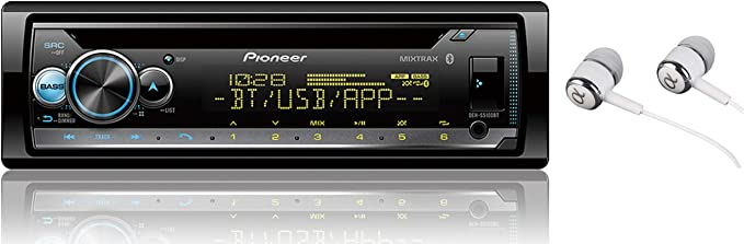 Built-in Bluetooth and Colour Customization Pioneer DEH-S5010BT CD Receiver with Improved Pioneer ARC App Compatibility MIXTRAX