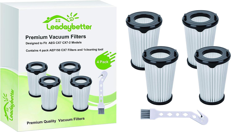 Leadaybetter - Filtros de repuesto para aspiradora AEG CX7 CX7-2 ...