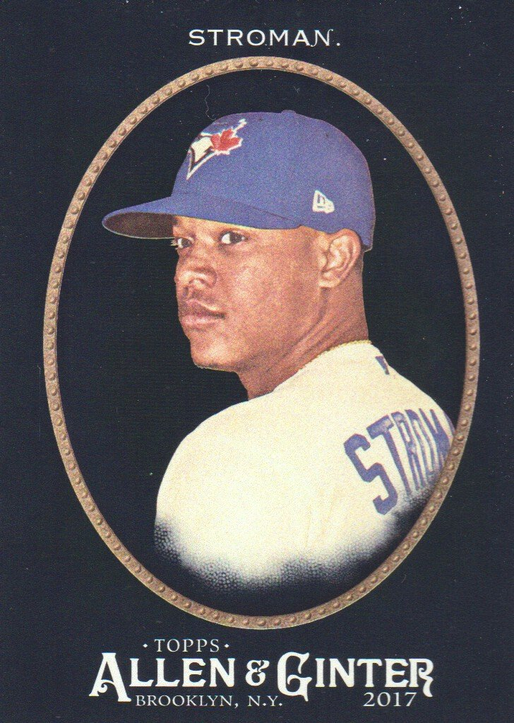 7d0e4ba5d 2017 Topps Allen and Ginter X Baseball  176 Marcus Stroman Toronto Blue Jays  at Amazon s Sports Collectibles Store