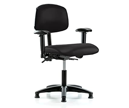 Image Unavailable  sc 1 st  Amazon.com & Amazon.com: PERCH Multi Task Swivel Chair with Stationary Caps Desk ...