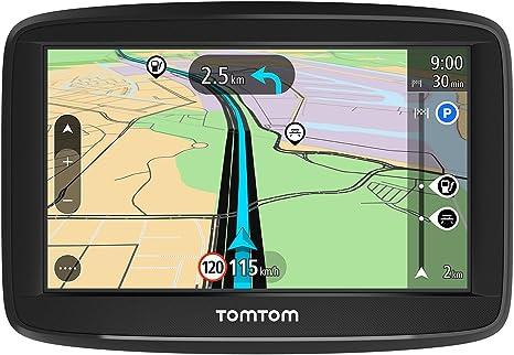 TomTom GPS para coche Start 42, 4 pulgadas, mapas de la UE, prueba gratuita de alerta de radares, soporte reversible integrado: Tomtom: Amazon.es: Electrónica