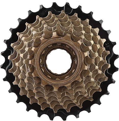 VGEBY Cassette de piñones Bicicleta, 8 Velocidades Rueda Libre ...