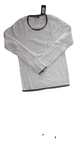 Tommy Hilfiger Damen Zopf Pullover Pulli Strickpullover blau Größe S ... 29710de87e