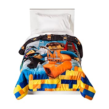 Amazon.com: The Lego Movie Microfiber Twin Comforter: Home & Kitchen