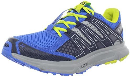 Salomon XR Shift Azul Amarillo Hombre Zapatos Trail Running Light Weight Muscle Contagrip: Amazon.es: Deportes y aire libre