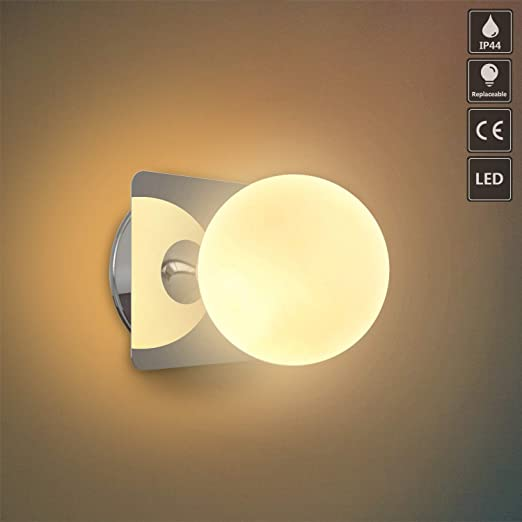 LED Esterno-lampada lampada da parete ip44 MURO-LAMPADA GIARDINO-faretto bagno gu10 5w Bianco