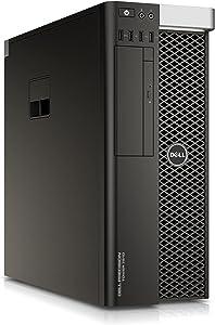 Dell Precision T7810 Workstation, 2X Intel Xeon E5-2620 v3 up to 3.2GHz (12-Cores/24 Threads Total) 32GB DDR4 RAM, Quadro K620 2GB (Display Port + DVI), 512GB SSD, USB 3.0, Windows 10 Pro (Renewed)