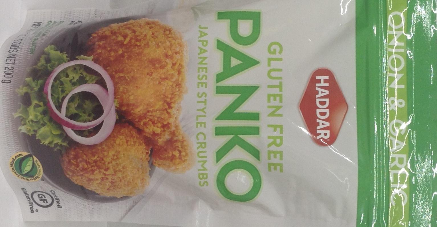 Haddar Panko Onion & Garlic Japanese Style Crumbs Kosher For Passover 7 Oz. Pk Of 1.