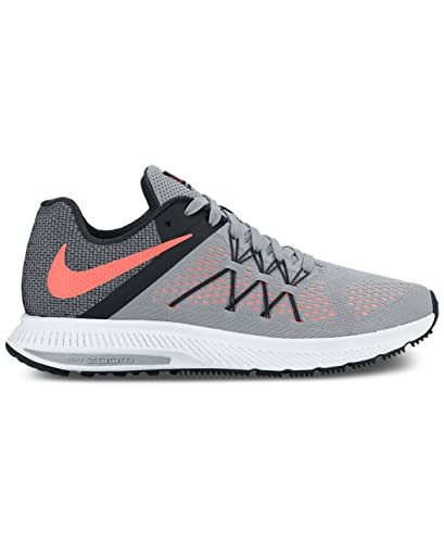 6b539c30bb2cc Image Unavailable. Image not available for. Color  Nike Womens Winflo 3  Running Sneakers from Finish Line Grey