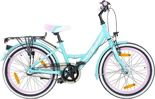 Galano Blossom - Bicicleta infantil urbana de 20 pulgadas, verde ...
