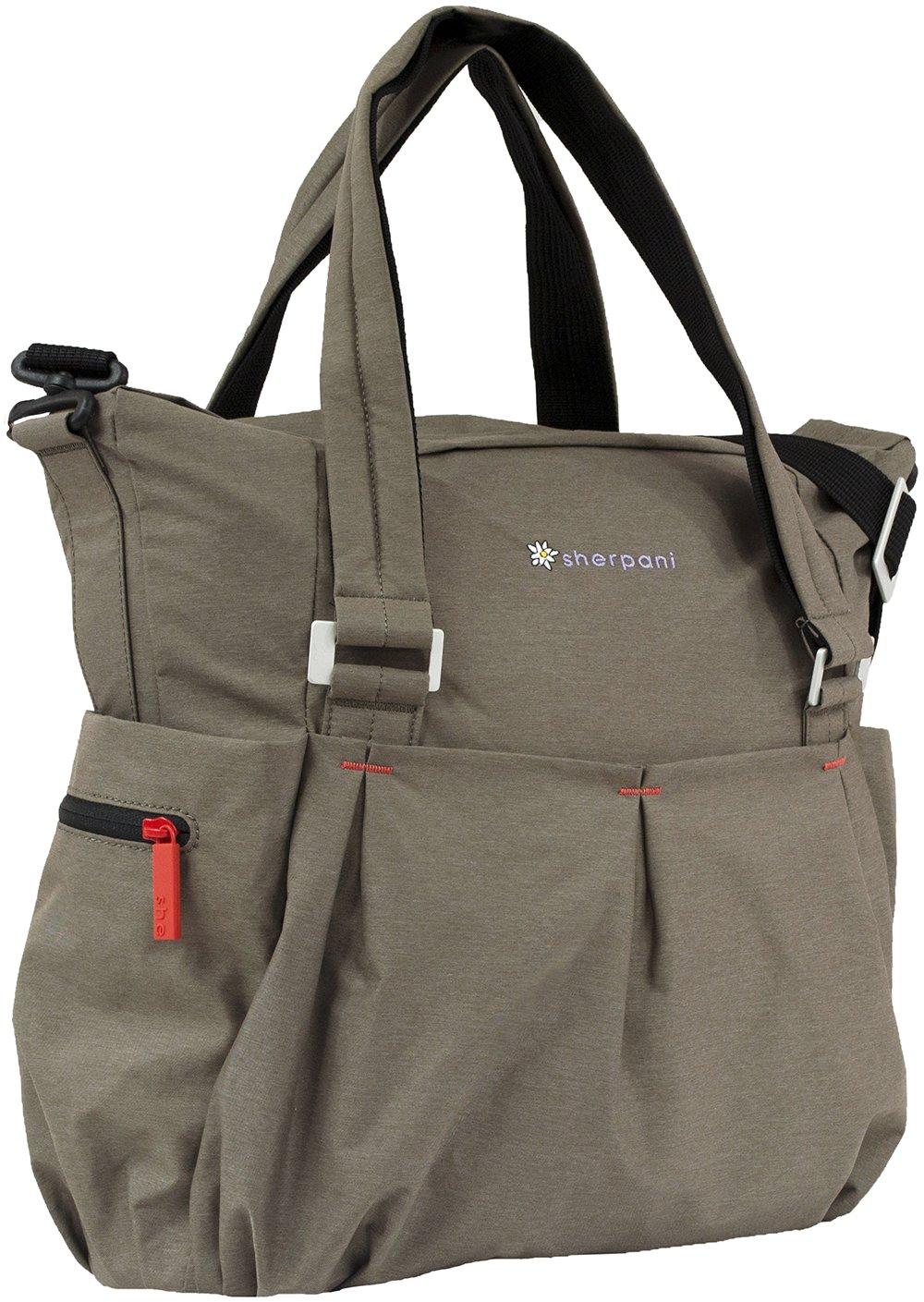 Sherpani Wisdom Yoga Tote Bag Heather Light Brown One Size Amazonca Luggage Bags
