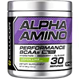 Cellucor Alpha Amino EAA & BCAA Recovery Powder, Essential & Branched Chain Amino Acids Supplement, Lemon Lime, 30 Servings