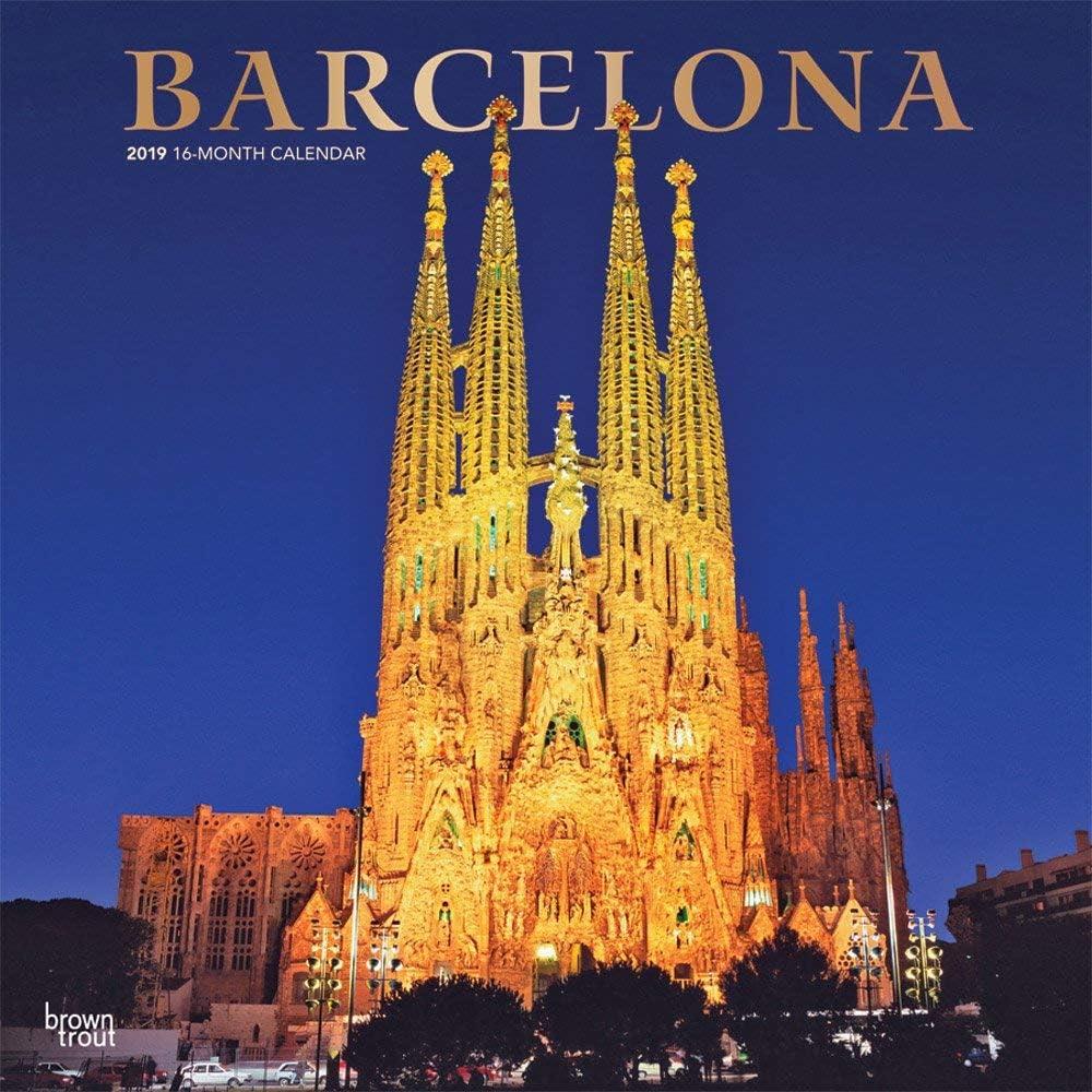 Calendario 2019 Barcelona – España – Sagrada Familia – Rambla – Capital + incluye un – Agenda de bolsillo 2019: Amazon.es: Oficina y papelería