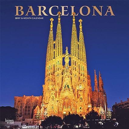 Calendario 2019 Barcelona – España – Sagrada Familia – Rambla ...