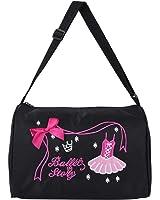 iEFiEL Girls New School Year Ballerina Duffel Bag Ballet Dance Hand Bag Shoulder Bag Zipper Closure