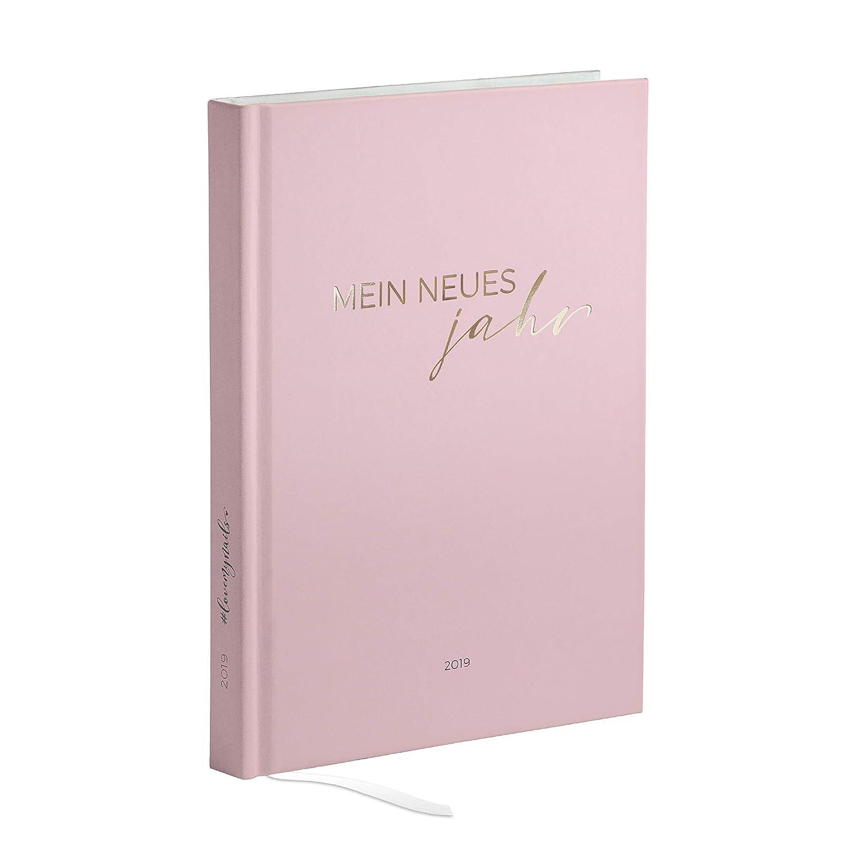 Agenda, agenda, cuaderno de planificación, organizador 2019 A5 para Studio, Beauty, maquillaje, Peluquería, práctica de uñas, Designer