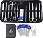 22Pcs Advanced Dissection Kit for Medical Biology & Veterinary Students- Anatomy