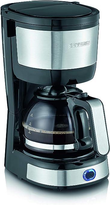 Severin KA 4808 - Cafetera de filtro compacta (4 tazas, 750 W ...