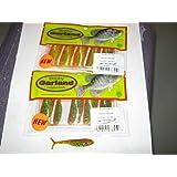 Bobby Garland Slab Huntr Minnow 2.25 inch 10 per bag 2 bags white and chart