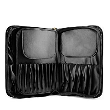 5ac411a24f57 Amazon.com : LEQ Leather Multifunctional Makeup Brush Holder ...