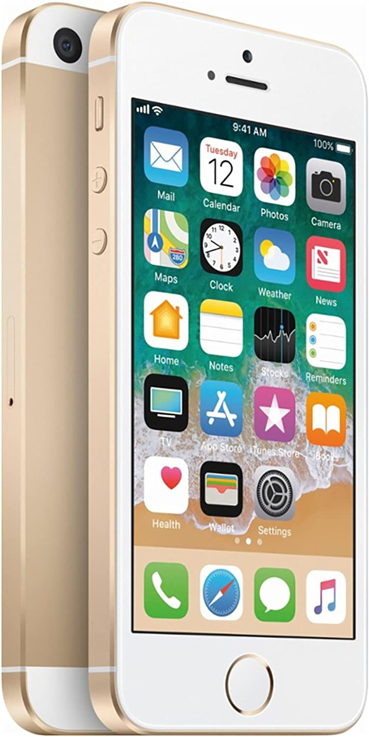 Apple iPhone SE, 32GB, Gold - For AT&T / T-Mobile (Renewed)
