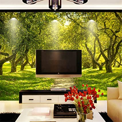 Costom 3d Wallpaper Tv Wall Art Nature Landscape Photo Wall Murals