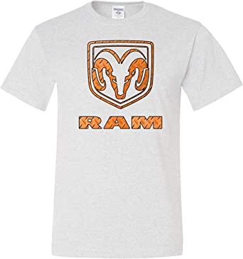 Yoga Clothing For You Dodge Ram Tall T-Shirt Diamond Plate ...
