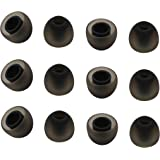 Rayker Replacement Ear Tips for Jay Bird Bluebuds X X2 X3 Ear Adapter, Noise Isolation Comfort Silicone Tips in Ear Canal, Me