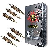 BIGWASP #12 Standard 7RM Tattoo Needle Cartridges 7