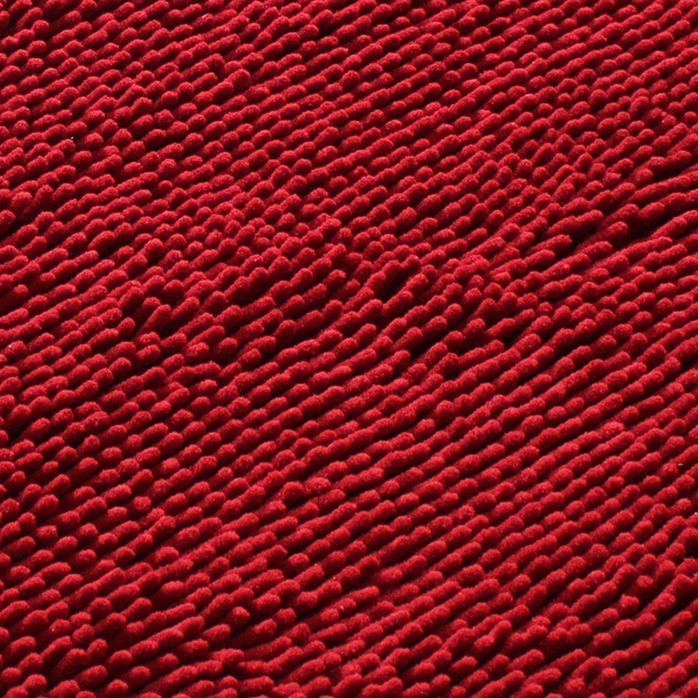 MoMo Chenille-Matte wasserabsorbierende Matten Badezimmer-Badezimmer-Tür-Matte,II,40x120cm (16x47inch) B078GMNMT3 Duschmatten