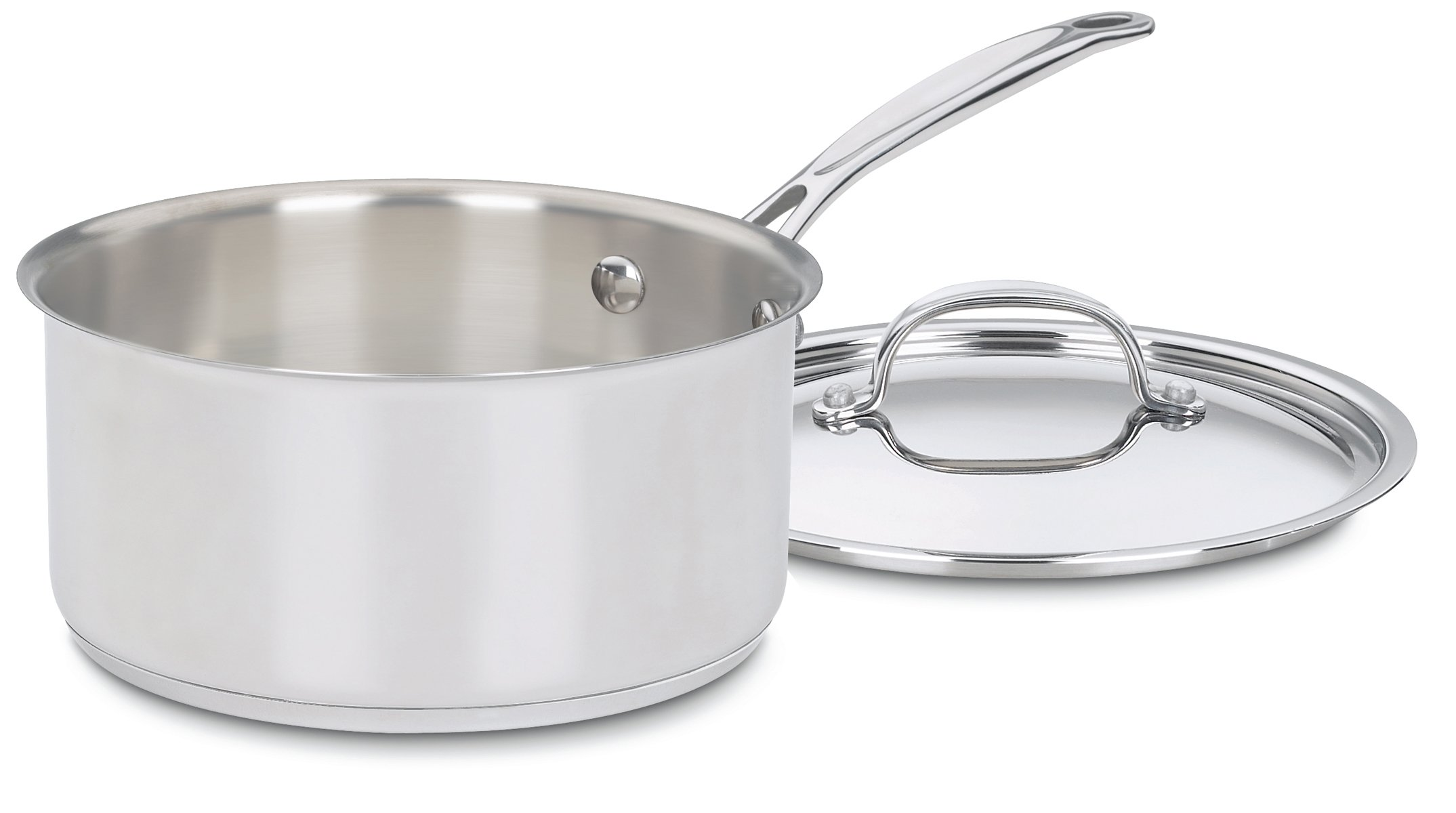 Cuisinart 7193-20 Chef's Classic Stainless 3-Quart Saucepan with Cover by Cuisinart