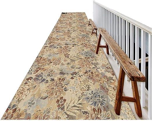 ZEMIN-Alfombras del Pasillo A Prueba De Polvo Moqueta Larga Textura Mat Área Escalera, Multi-tamaño Personalizable (Color : B, Size : 1.1x5m): Amazon.es: Hogar