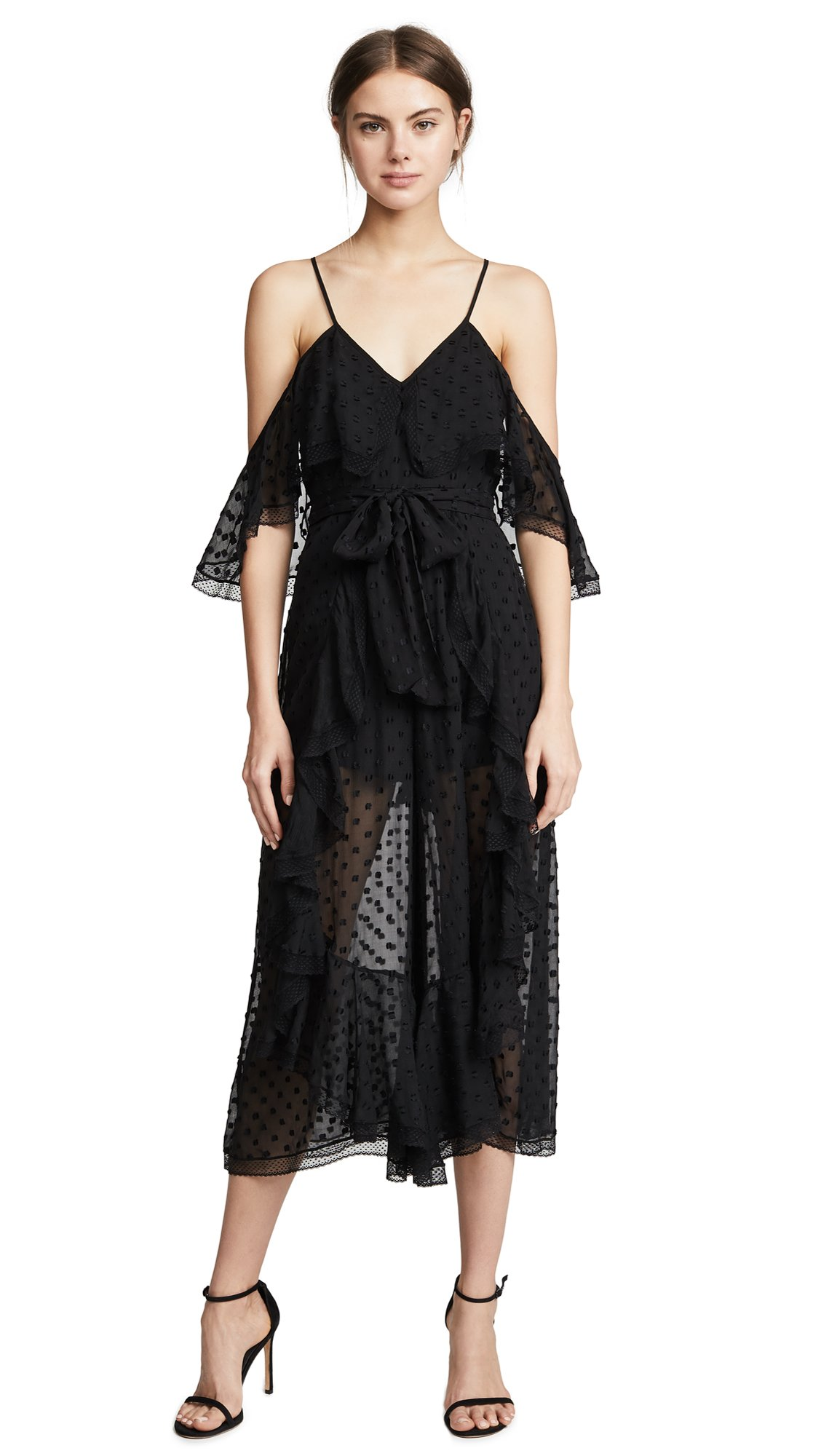 Alice McCall Women's What You Waiting For Jumpsuit, Black, 4